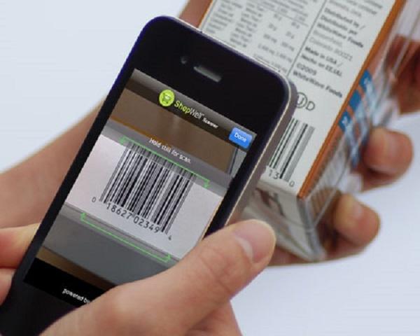 Chiếc smartphone có thể trở thành thiết bị đọc mã vạch đấy bạn nhé