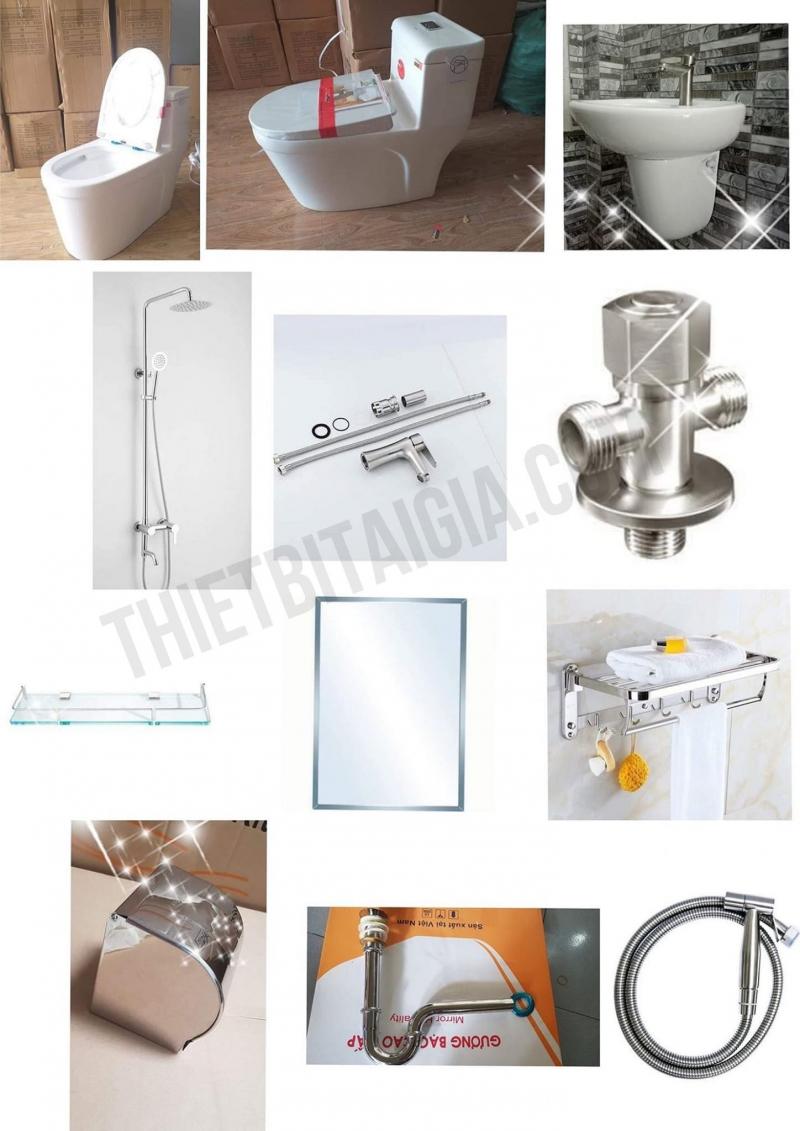 Thiết Bị Tại Gia tìm thấy đầy đủ các thiết bị, phụ kiện phục vụ cho việc thi công nên một buồng tắm, buồng vệ sinh