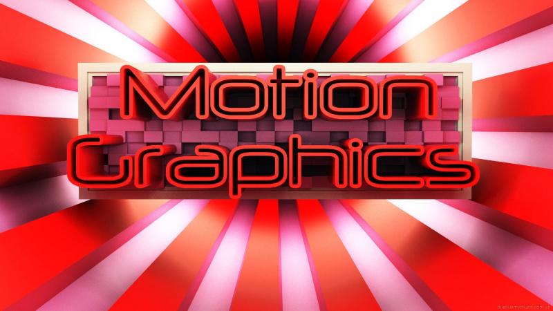 Motion Graphic - Đồ học chuyển động