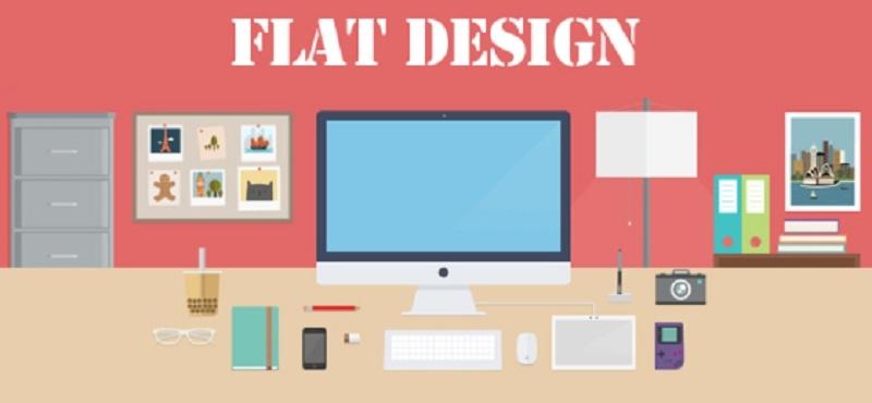 Thiết kế Flat design