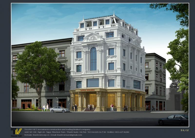 Thiết kế kiến trúc & nội thất Thanh Việt