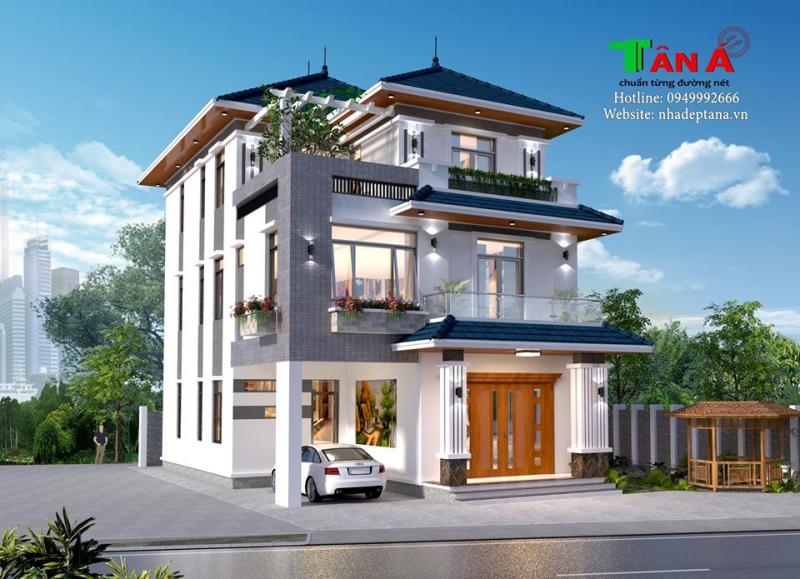 Thiết kế nhà đẹp Tân Á