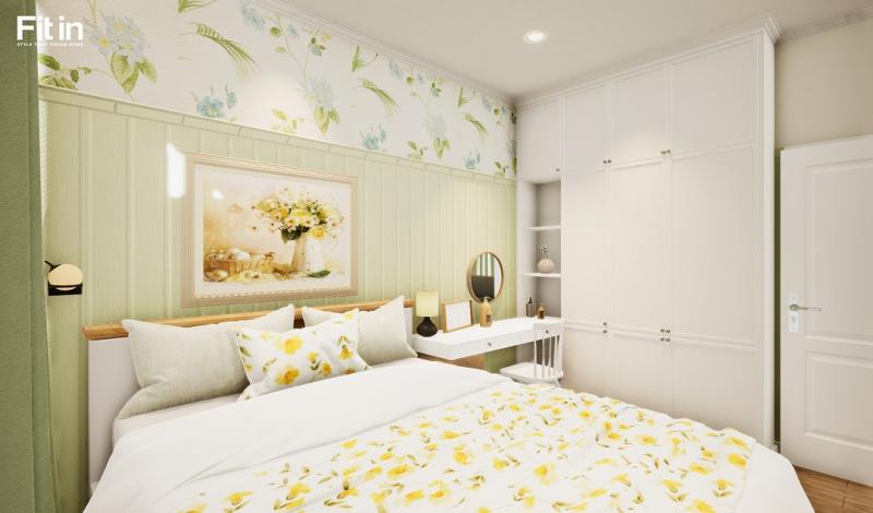 Thiết kế nội thất phòng ngủ theo phong cách Vintage 