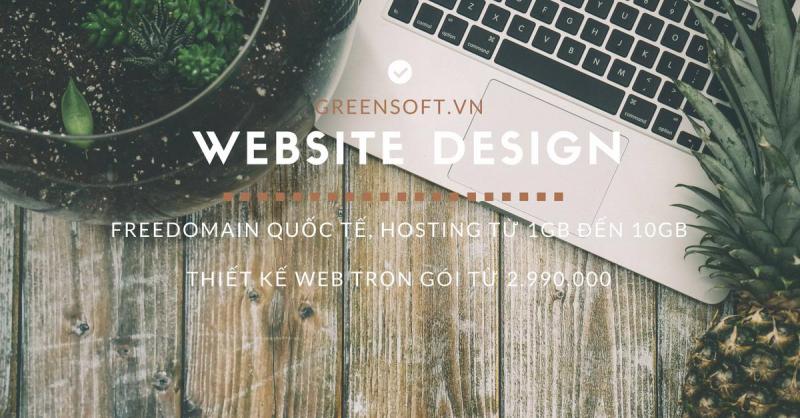 Thiết kế website Greensoft
