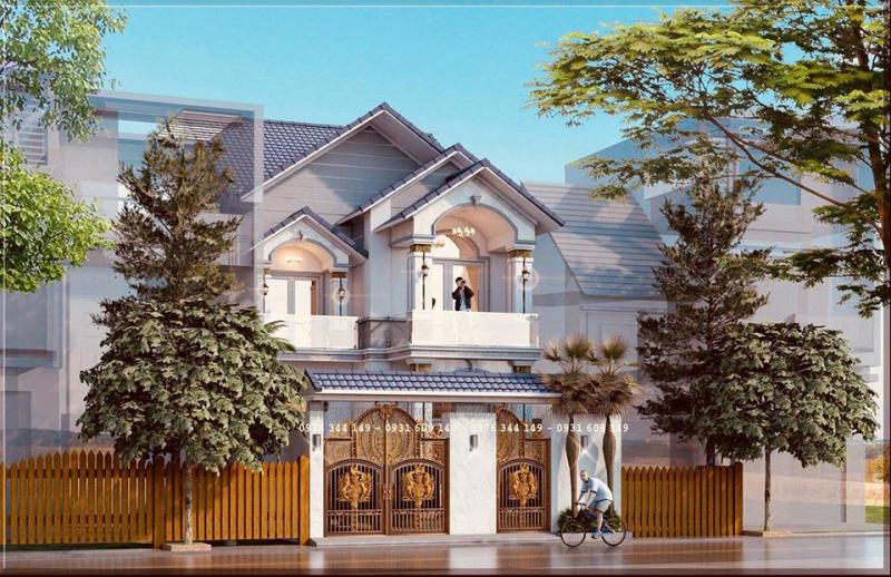 Thiết kế Xây Dựng Nhà Đẹp Phố Núi