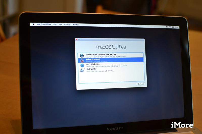 Phương án cuối cùng: cài lại toàn bộ MacOS