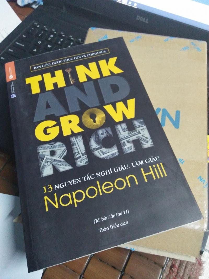 Cuốn sách nghĩ giàu làm giàu - Napoleon Hill
