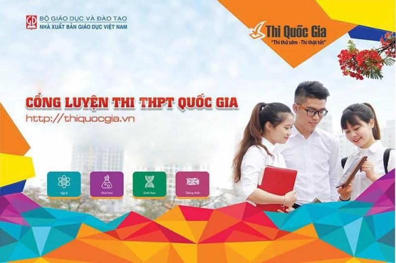 Cổng luyện thi THPT Quốc gia
