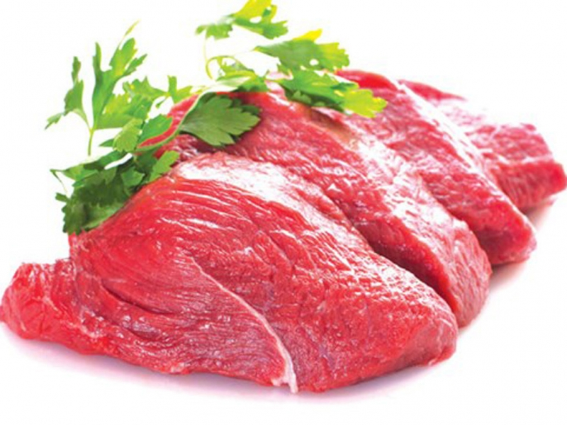 Thịt bò cung cấp protein dồi dào cho cơ thể.