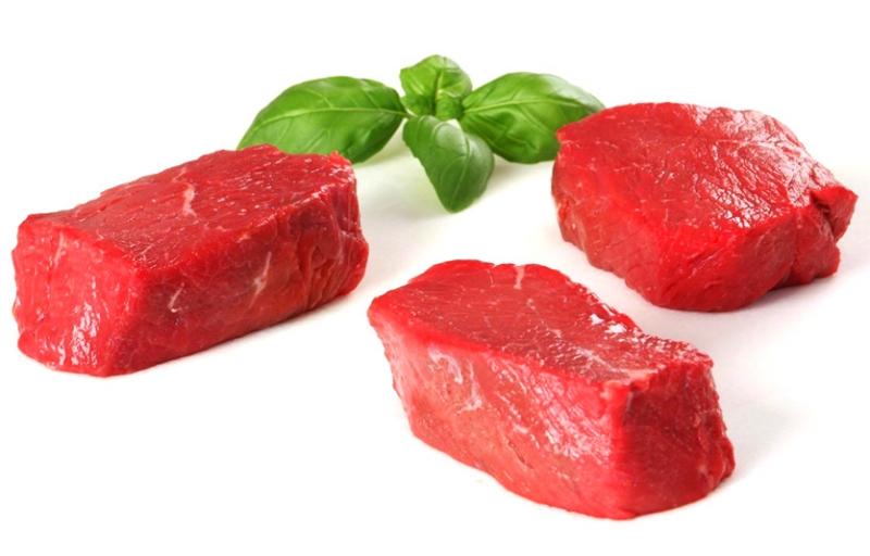 Thịt bò có chứa một lượng sắt và kẽm rất lớn