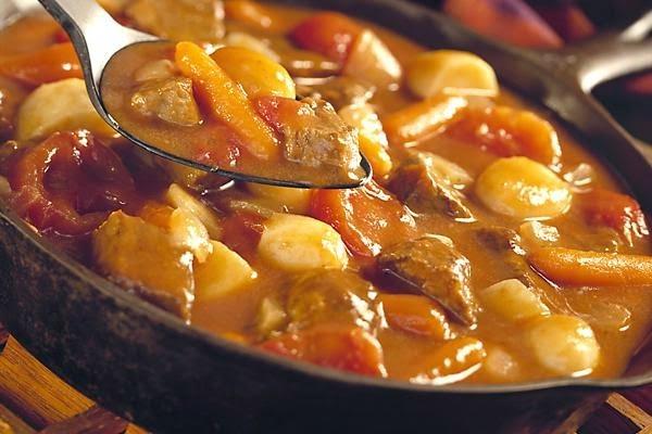Món bò hầm khoai tây