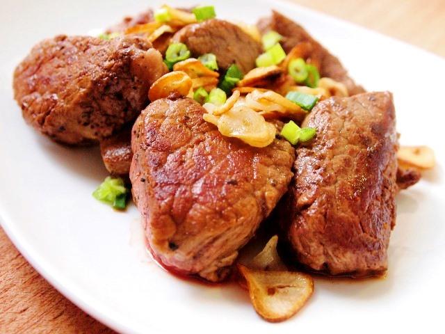 Thịt bò rán