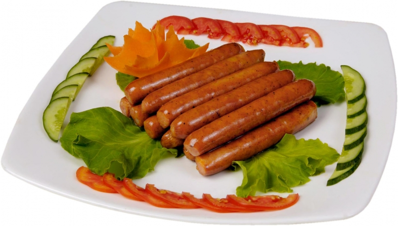 Thịt chế biến sẳn như: xúc xích, pate, chả,...