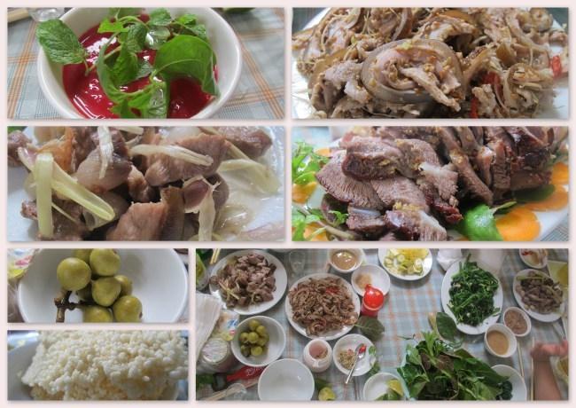 Thịt dê Ninh Bình ẩm thực Miền Bắc