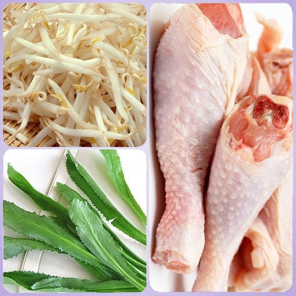 Thịt gà có chứa nhiều dưỡng chất đặc biệt là Protein