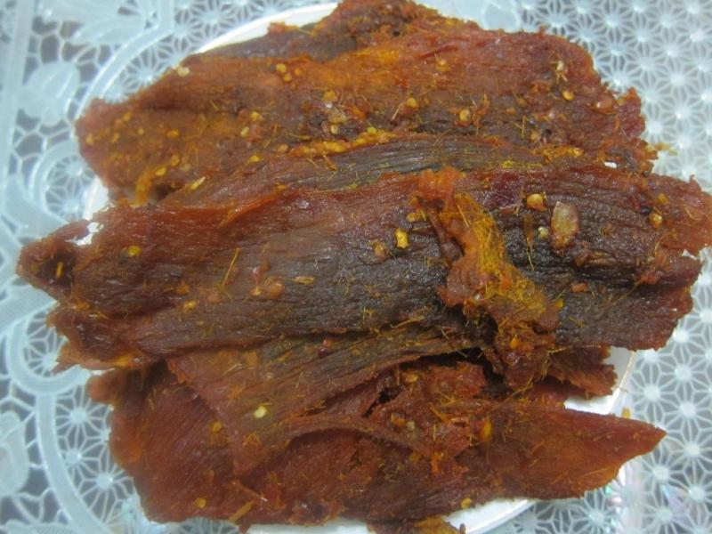Đĩa thịt nai khô thật khiến bạn mê mệt.