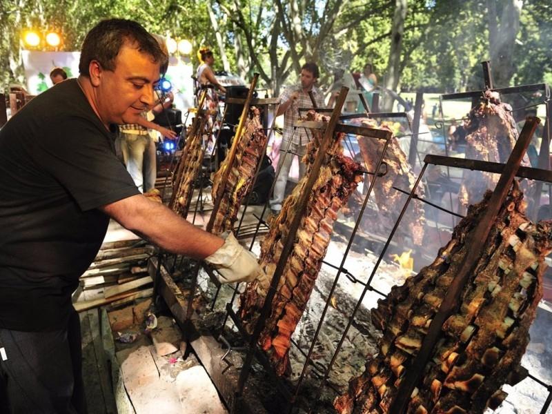 Thịt nướng ở Asado