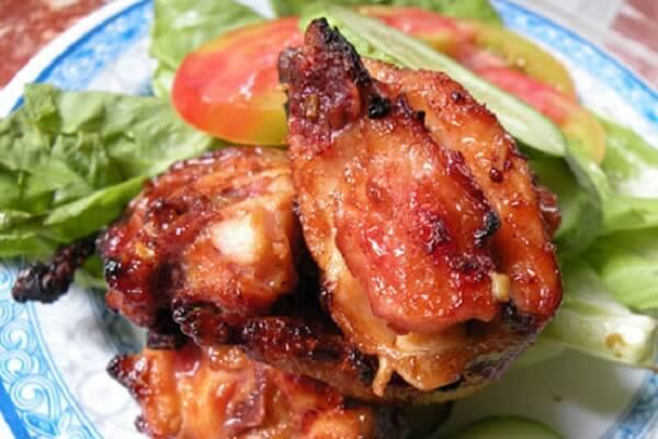 Thịt thỏ nướng mù tạt