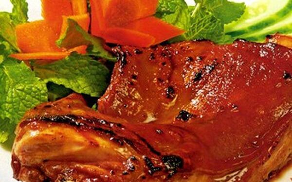 món thịt thỏ roti hấp dẫn, lạ miệng