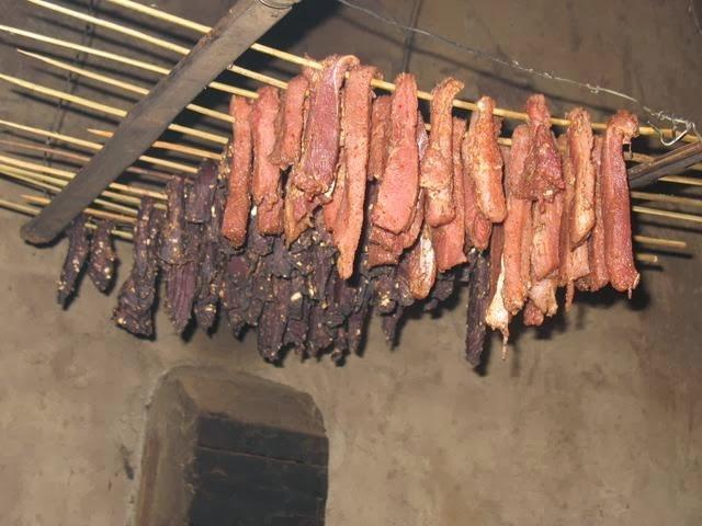 Thịt hun khói Sapa