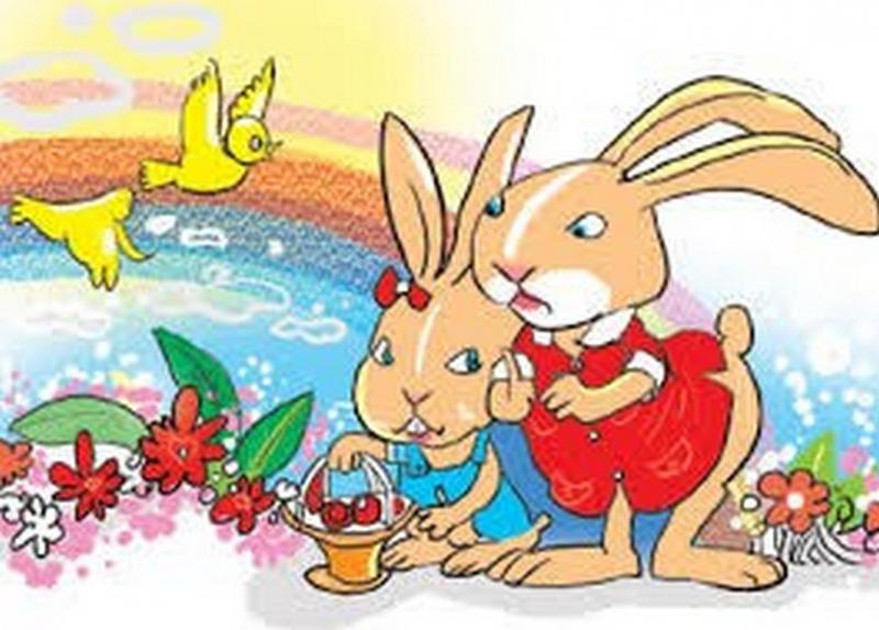 Thỏ con và mùa xuân