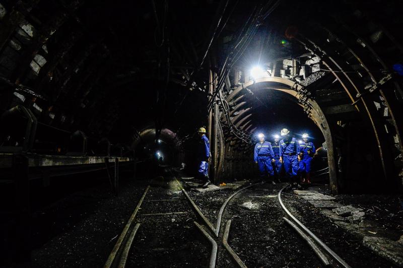 Thợ mỏ khi ở dưới hầm