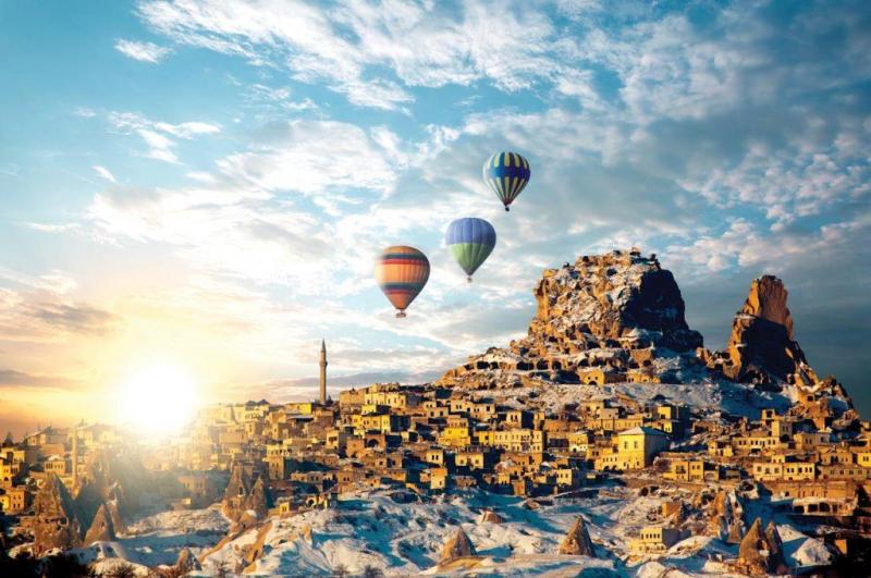 Thổ Nhĩ Kỳ - đất nước của những câu truyện thần thoại  Hy Lạp