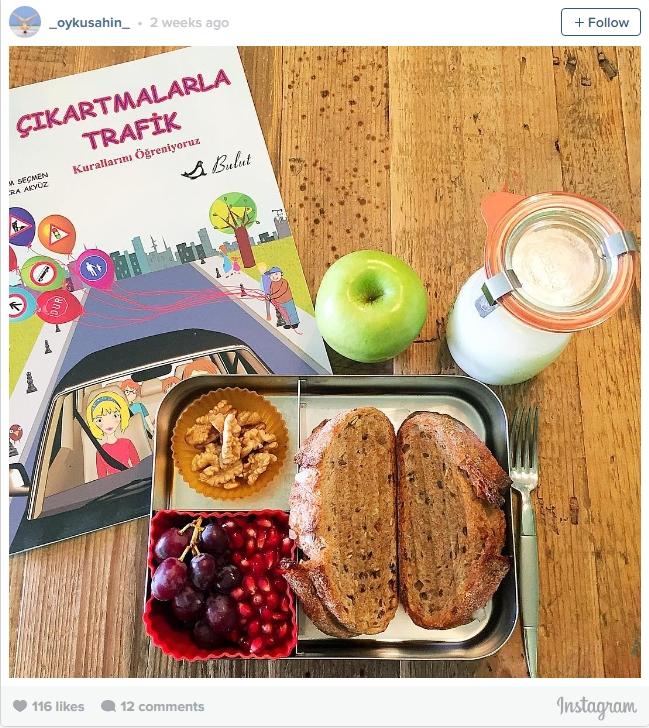 Học sinh Thổ Nhĩ Kỳ thích dùng trái cây tươi và Kefir cho bữa trưa