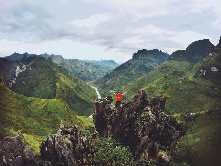 Đèo Mã Pí Lèng và sông Nho Quế