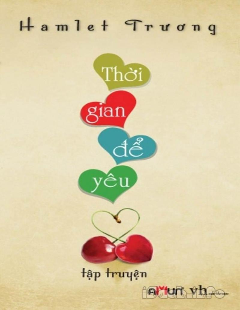 Bìa sách dễ thương của cuốn Thời gian để yêu