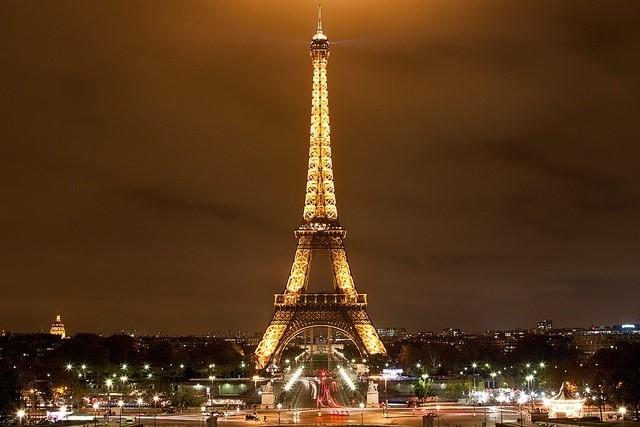 Toàn cảnh tháp Eiffel