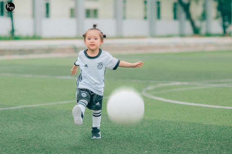 Khi trẻ yêu thích và đam mê thể thao, tương lai trẻ sẽ rất xuất sắc. (Nguồn internet)
