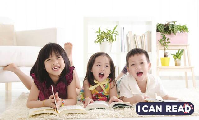 Thói quen đọc sách rất tốt cho trẻ.