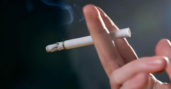 Thói quen hút thuốc lá