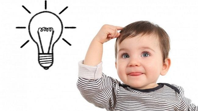 Khả năng tư duy của trẻ được hình thành qua quá trình rèn luyện.