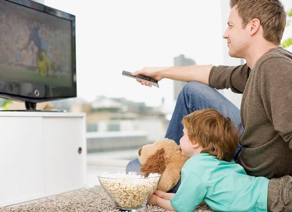 Thói quen xem tivi quá lâu