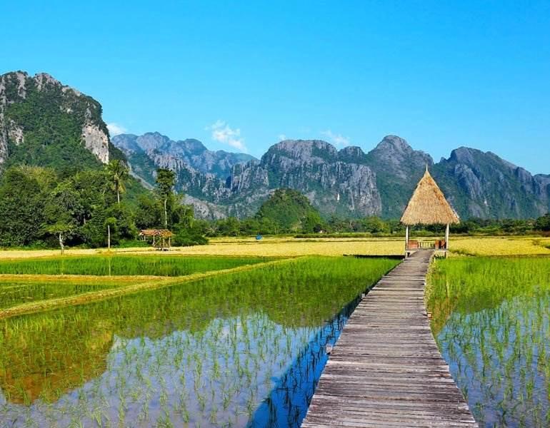 Thời tiết, khí hậu ở Lào