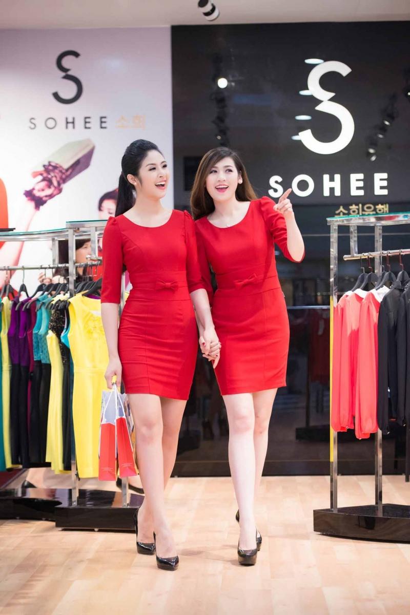 Ngọc Hân là đại diện thương hiệu cho Thời trang công sở SOHEE