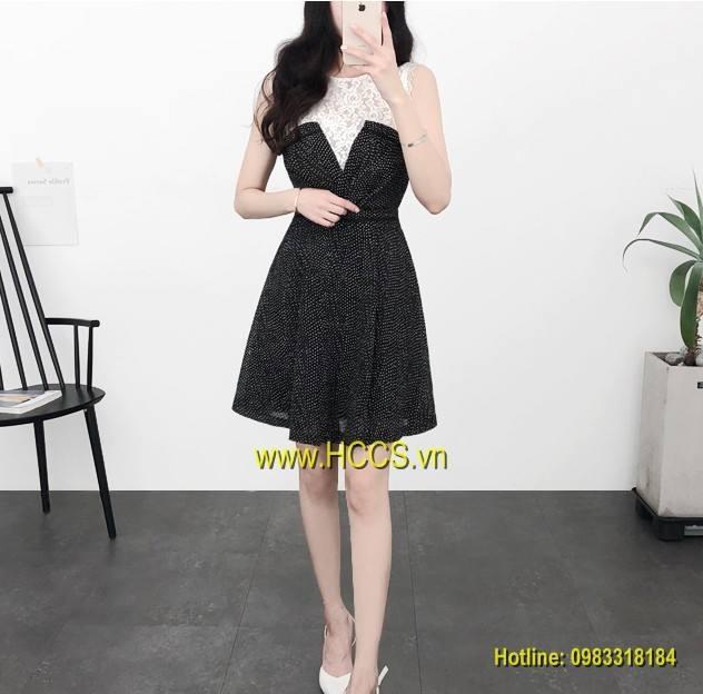 Mẫu váy liền thân tại Hà Hàn Quốc (hình ảnh được lấy từ website của shop)