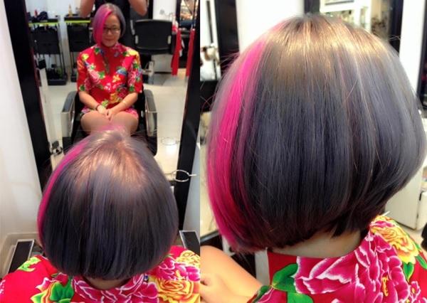 Kiểu tóc nhuộm ấn tượng tại Thông Hair Salon