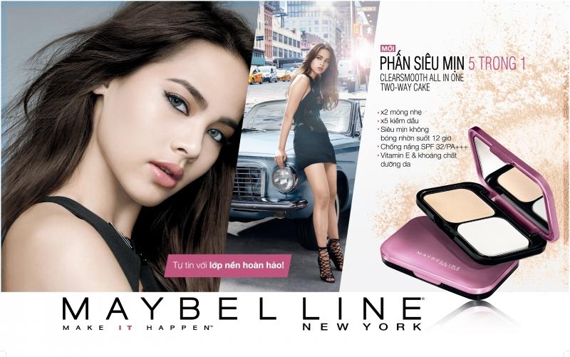 Yaya là gương mặt đại diện cho Maybeline