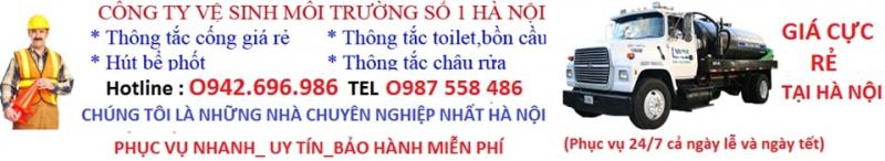 Top 8 Công ty Hút bể phốt - Thông tắc cống uy tín nhất Hà Nội