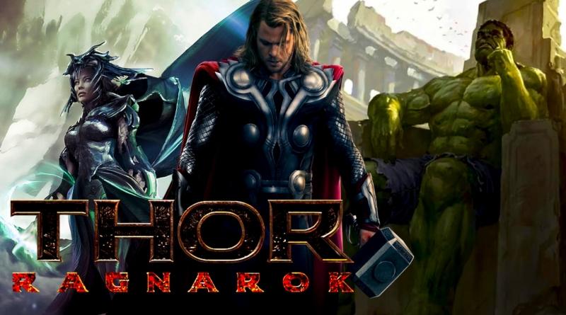Thor: Ragnarok (ảnh fan made). Hiện phim này chưa có poster, trailer chính thức