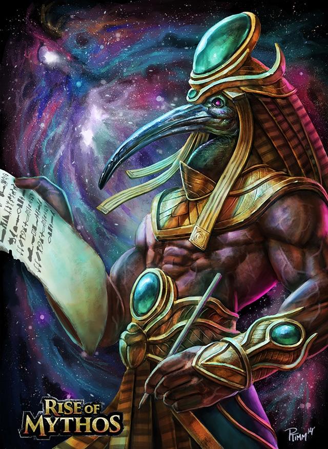 Thoth - Thần tri thức và thông thái