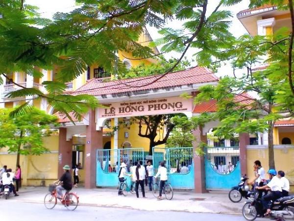 THPT Chuyên Lê Hồng Phong - Nam Định