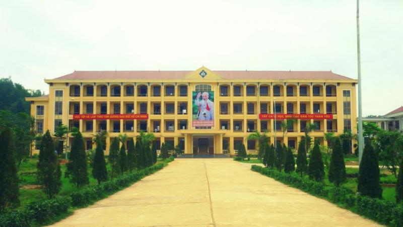 Khuân viên Trường Phổ thông Dân tộc nội trú (PTDTNT), Tuyên Quang