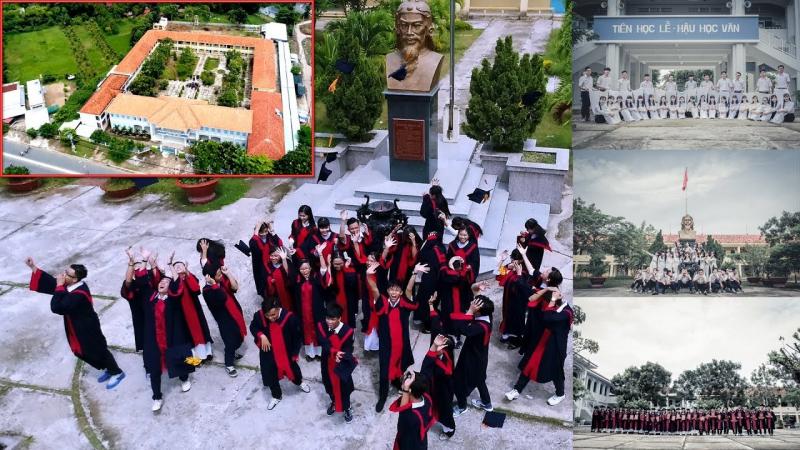 """Trong những năm vừa qua trường THPT Nguyễn Hữu Cảnh luôn tự hào là một trong những """"điểm sáng"""" của ngành giáo dục tại An Giang"""