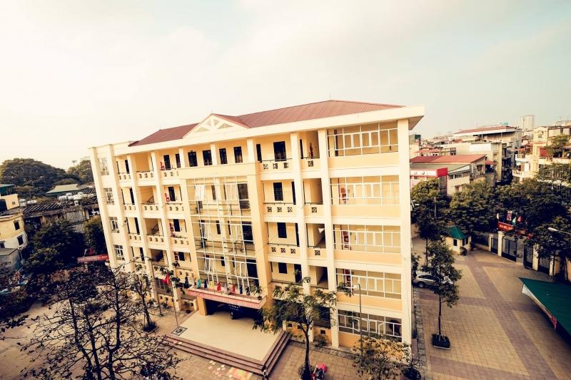 Trường THPT Thăng Long- Hà Nội.