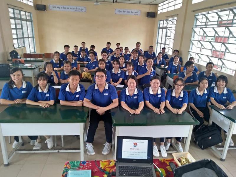 THPT Vĩnh Kim có tỷ lệ học sinh lên lớp thẳng đạt trên 98%; tỷ lệ học sinh tốt nghiệp THPT Quốc gia đạt trên 100%