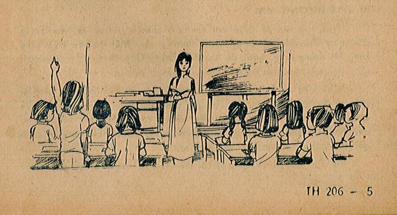 Thư chia tay học sinh gửi giáo viên thực tập